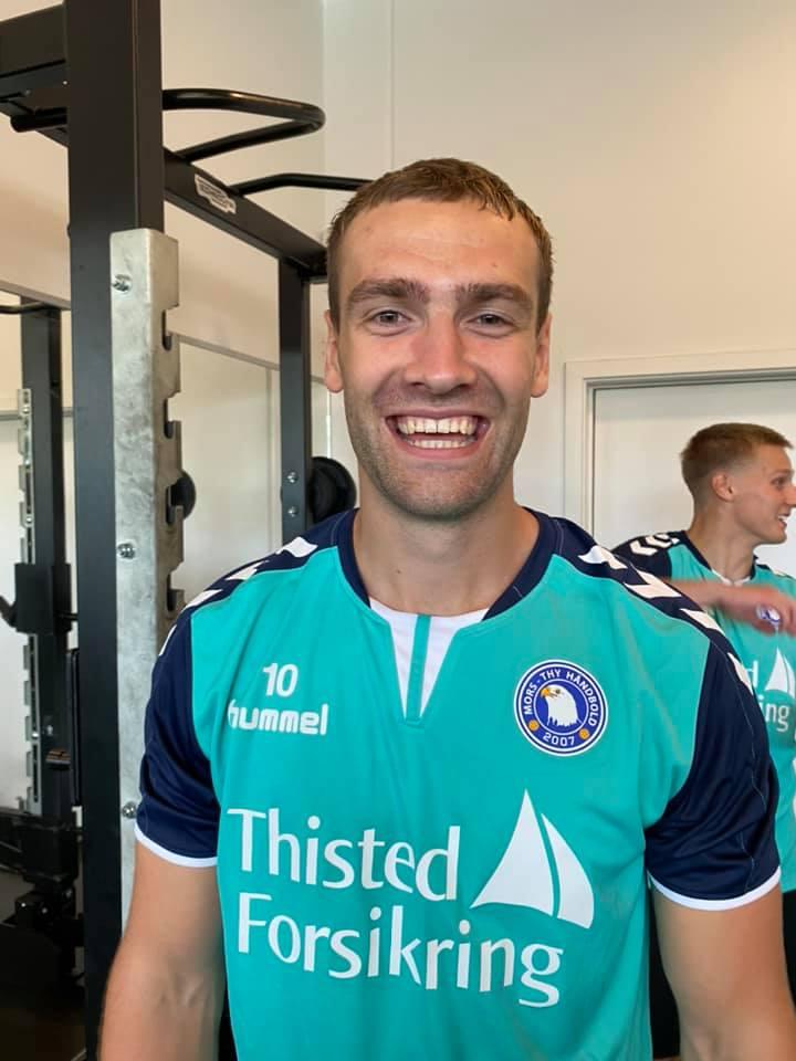 Mors Thy Håndbolds Frederik Tilsted: Han er bare dejlig at spille sammen...