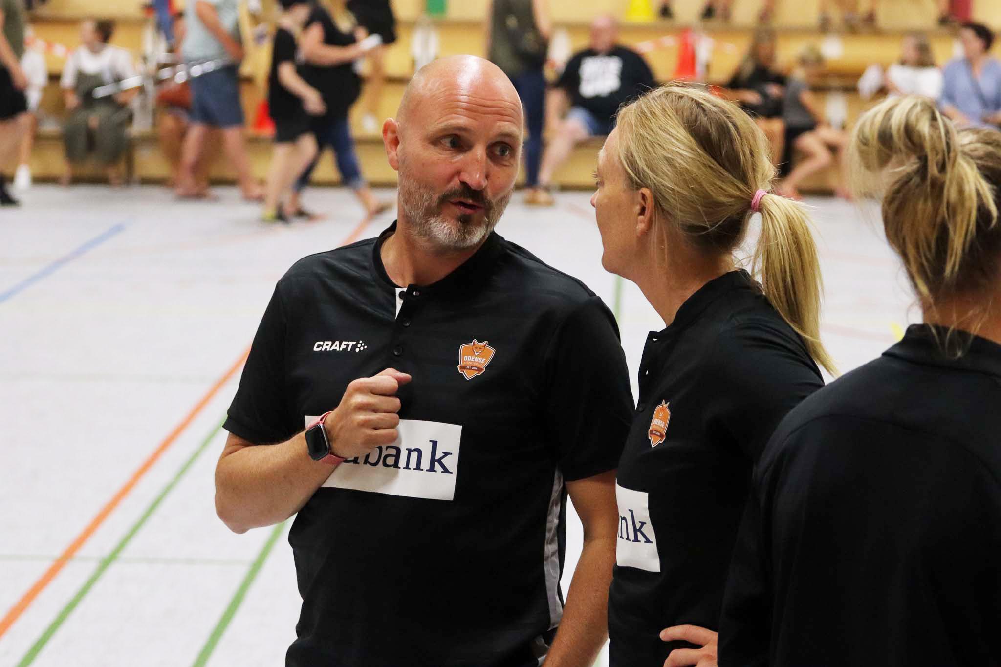 Odense-træner forbliver japansk landstræner til og med OL...